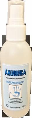 Антисептик без спирта Аживика