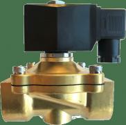 Клапан электромагнитный соленоидный 2W21 Ду25