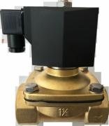 Клапан соленоидный 2W21 Ду40 электромагнитный
