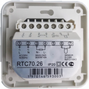 Термостат RTC 70F - вид сзади