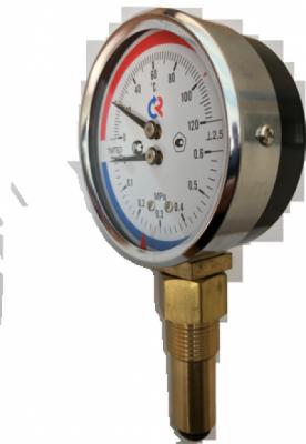 Радиальный термоманометр