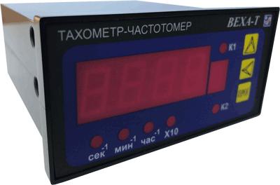 Универсальный тахометр-частотомер ВЕХА-Т в щитовом корпусе