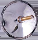 Термометр БТ биметаллический серия 211 шток осевой Нержавеющая сталь