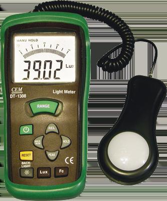 Люксметр dt1308  измеритель освещенности