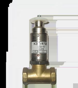 Клапан КЭГ-9720 электромагнитный импульсный Ду-15, 20, 25,32 (нормально открытый)