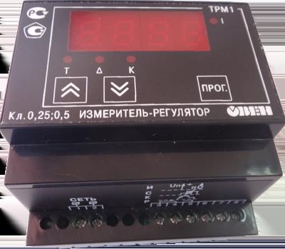 Измеритель-регулятор ТРМ1-ДУР исполнение на дин-рейку
